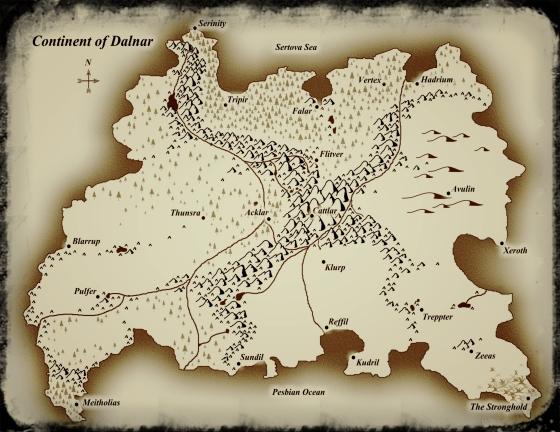 Map of Dalnar